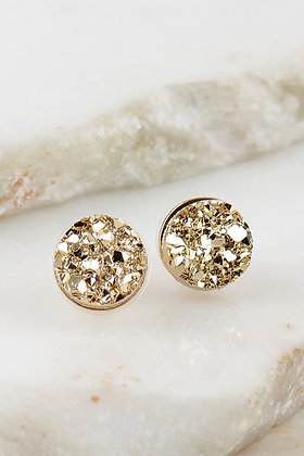 Nugget Studs - Gold