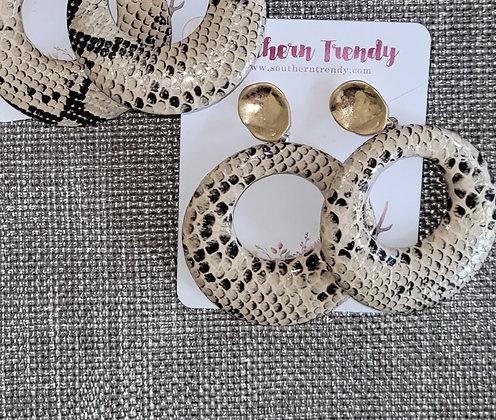 Serpent Earring