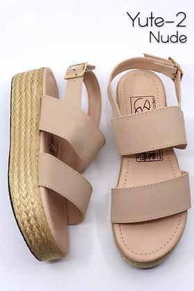 Yute-2 Nude Sandal