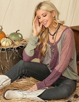 Knit Dolman Sleeve Top - Bringing on Spring!