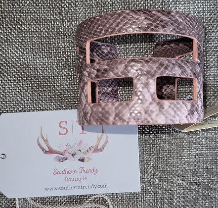 Jaanavar Leather Cuff Bracelet