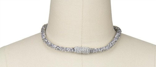 Austria Shimmer Choker Necklace