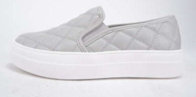 Quilted Platform Slip On Sneakers
