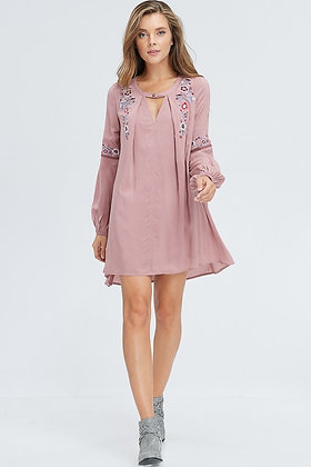Trendy & Mauve Mini Dress