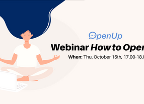 Rewatch webinar 'How to OpenUp'