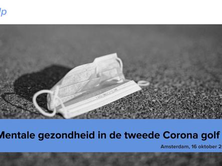 Oktober 2020 | De mentale gezondheid van Nederland staat onder zware druk na nieuwe maatregelen