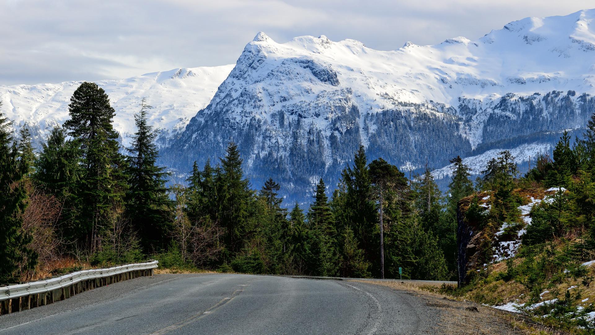 Mountains Near Klawock