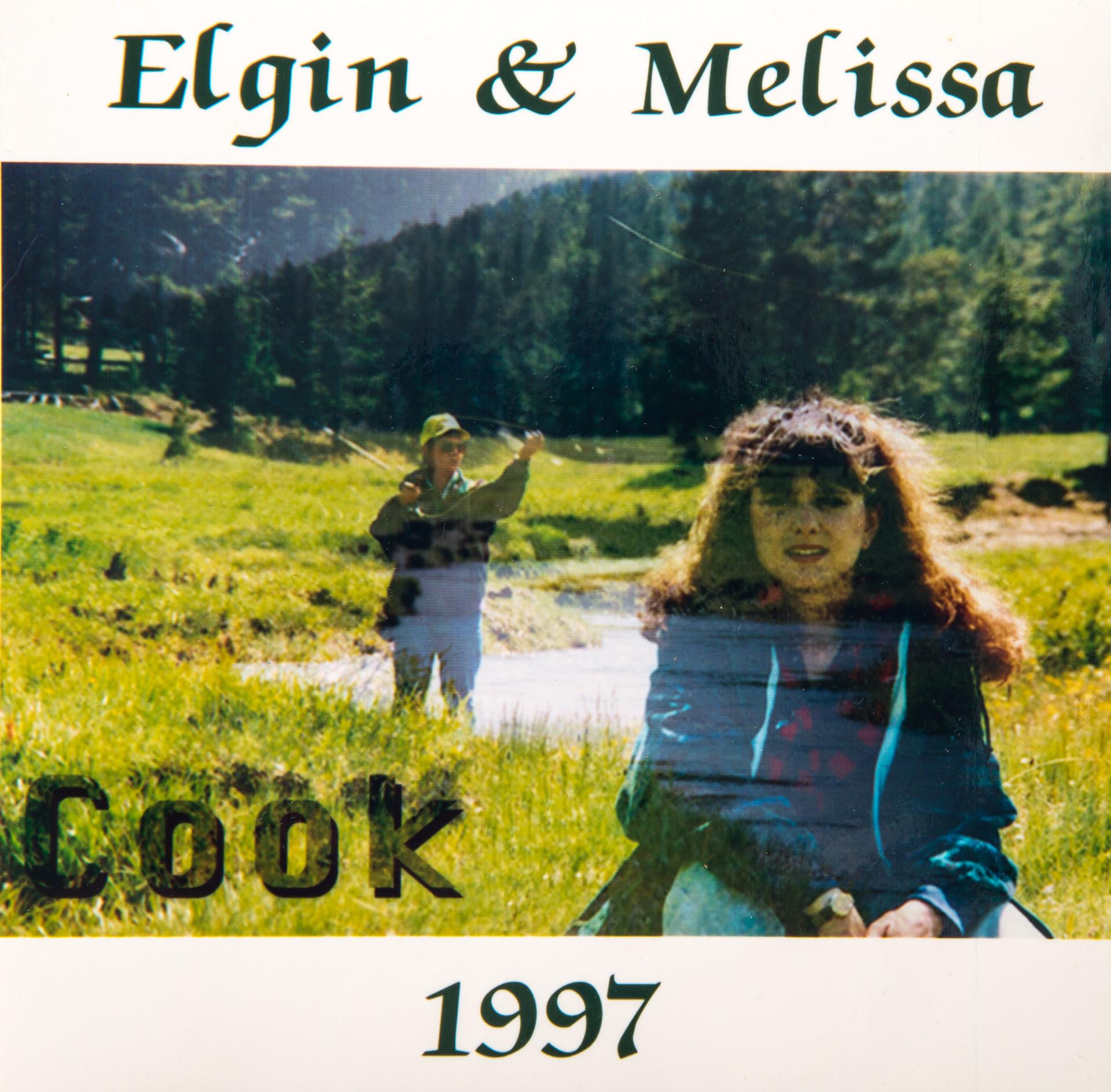 Elgin & Melissa Cook CD Front Cover for Job Application