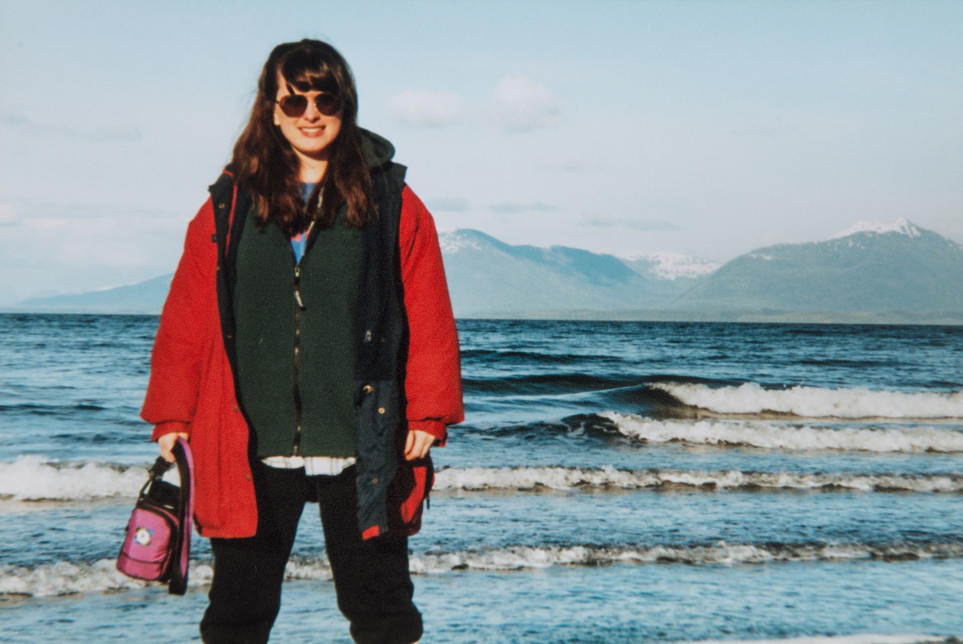 Melissa Cook at Sandy Beach