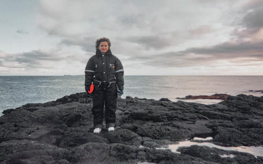 Melissa Cook (age 29) on St. Paul Island