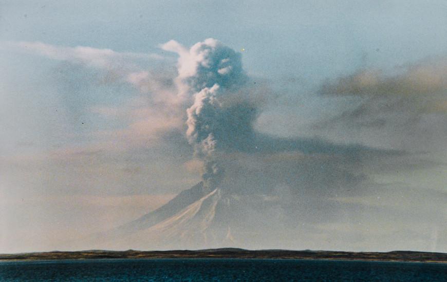 The Eruption of Pavlof Volcano