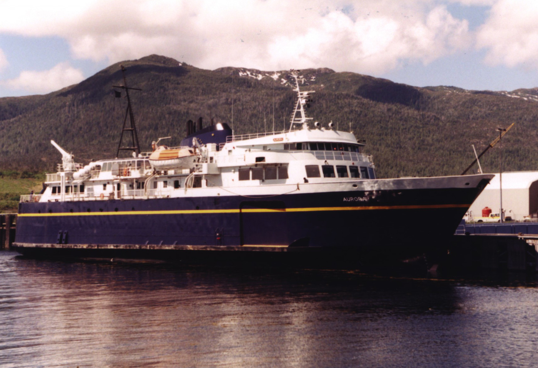 The Aurora Ferry - Alaska Marine Highway