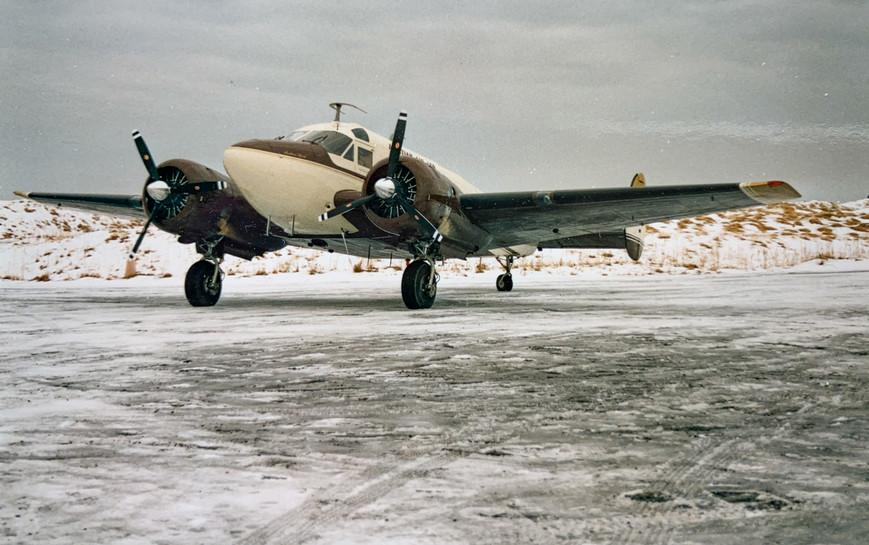 Tom Madsen's 1959 Beechcraft 18 - theAleutian Spirit