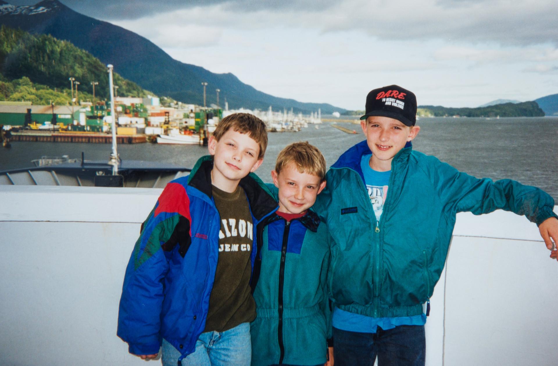 Everett, Ethan, Sutton Cook - Riding the Ferry