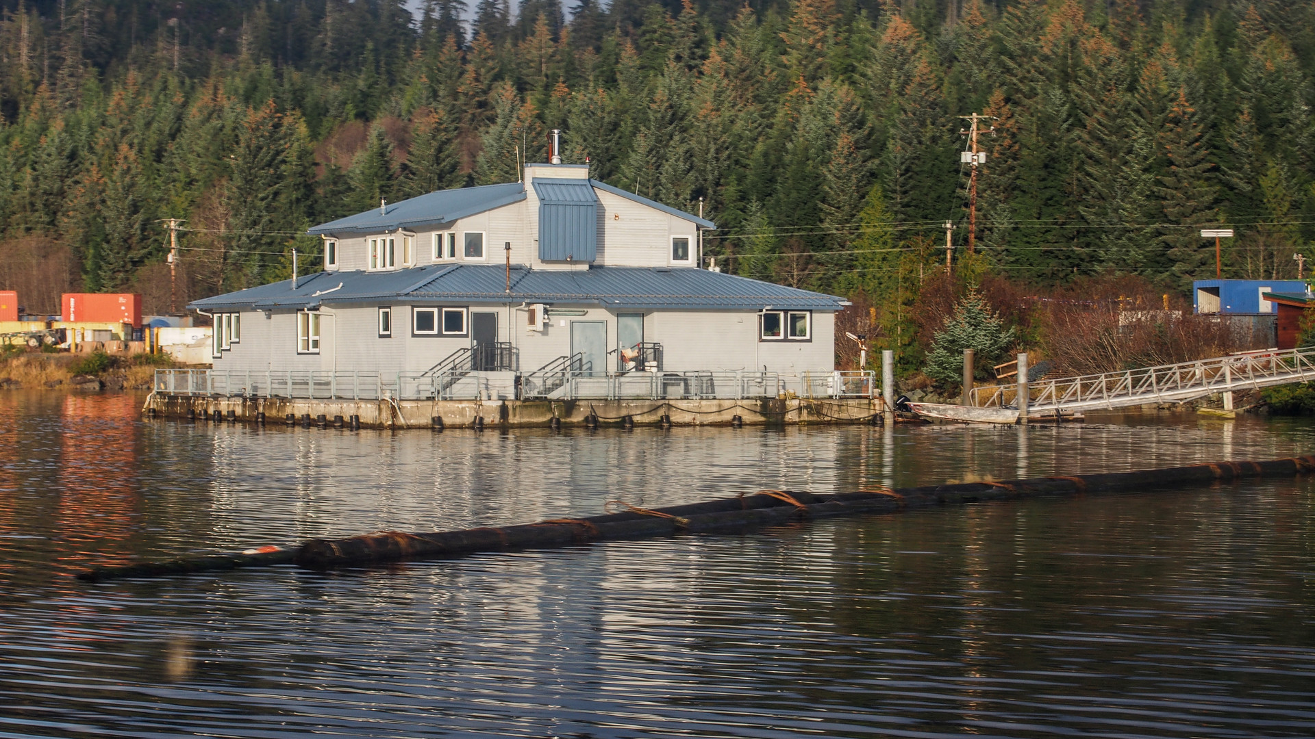 School District Office Float Building