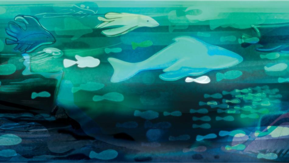 Sous La Mer Backdrop