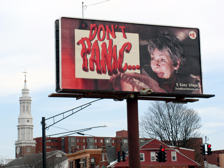 #3 Don't Panic