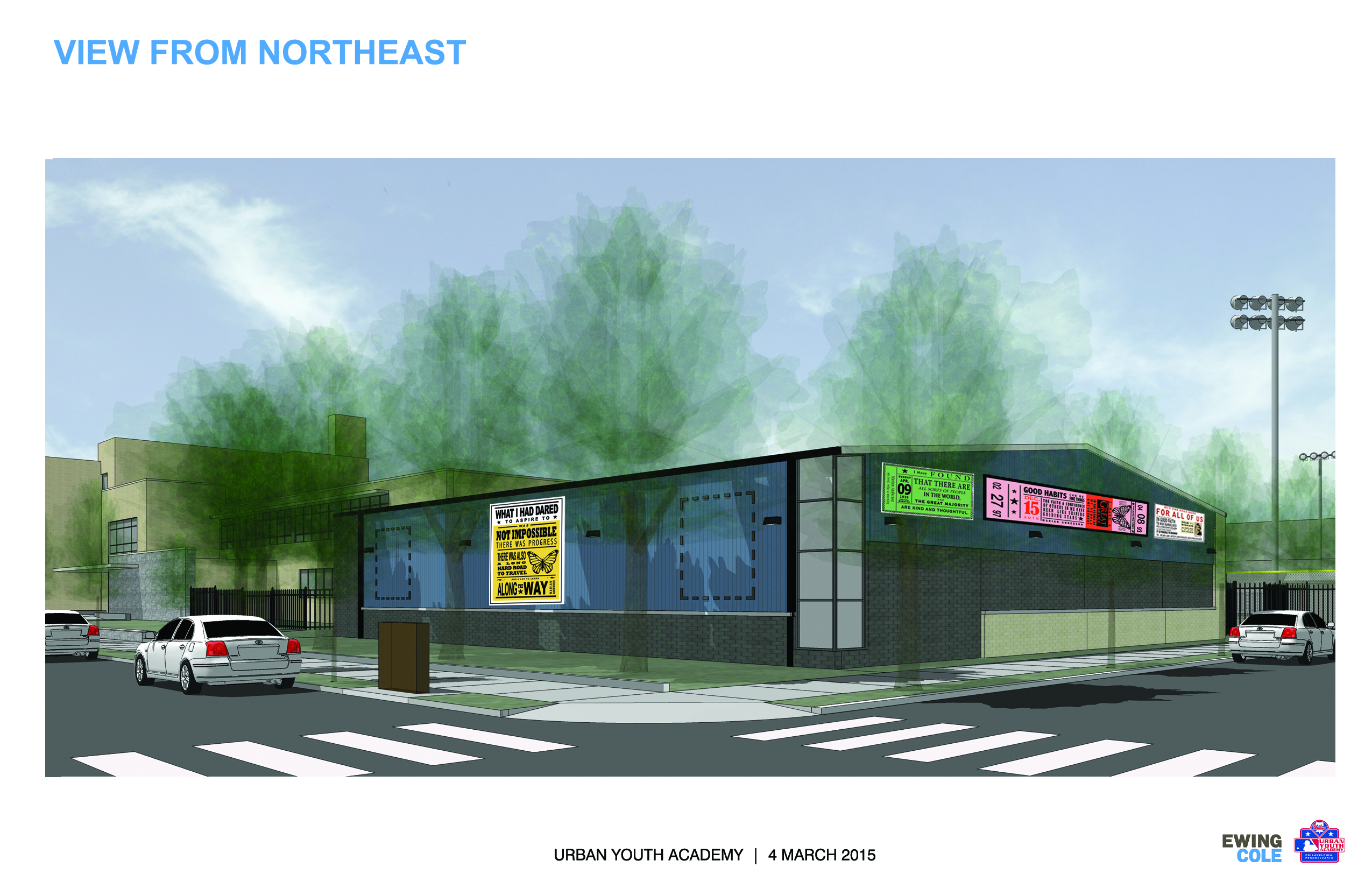 Rendering Marian Anderson Recreational Center