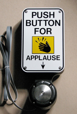 Standing Ovation Applause Button