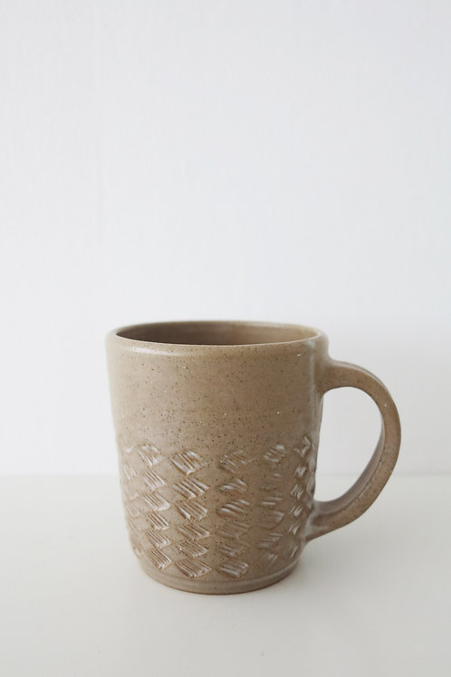 Hand carve cup