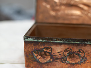 Newlyn Copper Cigarette Box