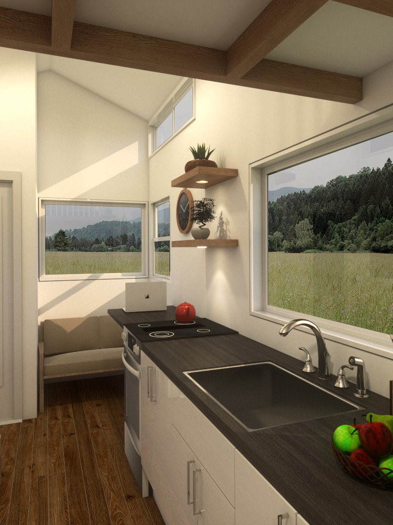 Minimalist Tiny House by Big Tiny Kitchen
