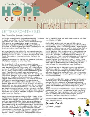 DSK Newsletter Winter 2016