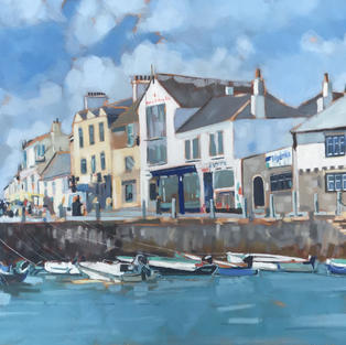 Harbour At St Mawes