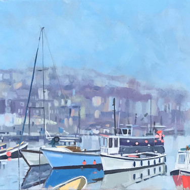 Misty Morning, Mevagissey (Sold)