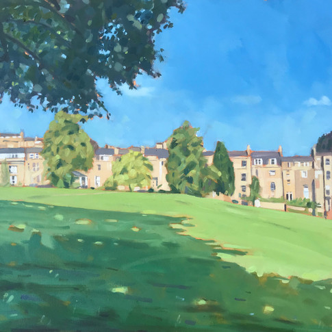 The Friday Meet Up (view from Approach Golf Course, Bath)