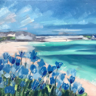 Looking Over Porthminster Beach (Sold)