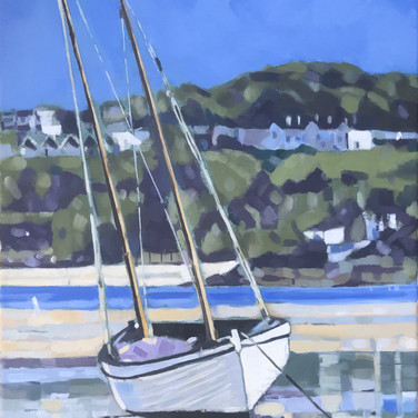 Low Tide Harbour Beach, St Ives (Sold)