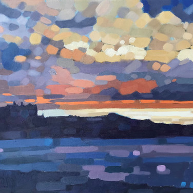 Newquay Sunset (Sold)