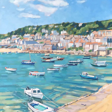 Springtime In Mousehole (Sold)