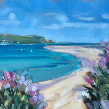 Summertime, The Camel Estuary (Sold)