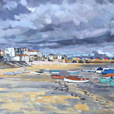 Dark Skies Over St Ives (Sold)