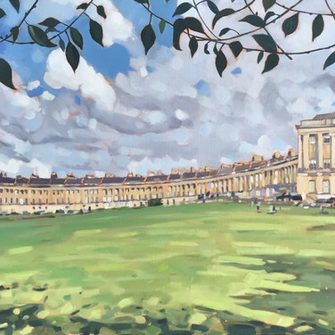 The Royal Crescent, Bath (Sold)