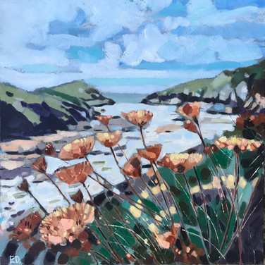 Between The Headlands, Port Quin (Sold)