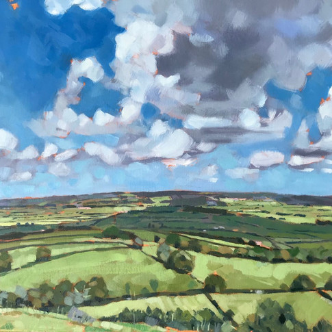 View From Glastonbury Tor (Sold)