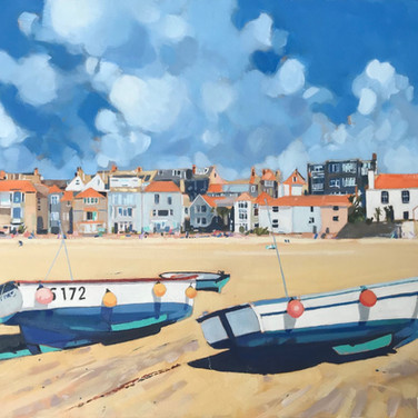 Beached Boats, St Ives