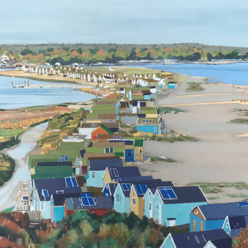 Beach Huts, Mudeford Spit (Sold)