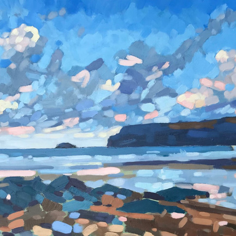 Just Before Sunset, Polzeath (Sold)