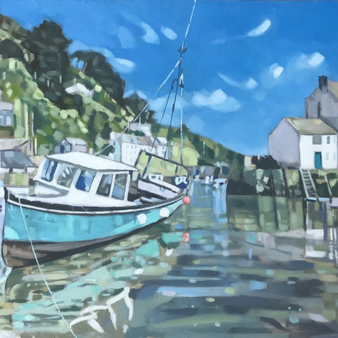 Reflections, Polperro (Sold)