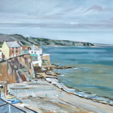 Summer's End, Cawsand Bay