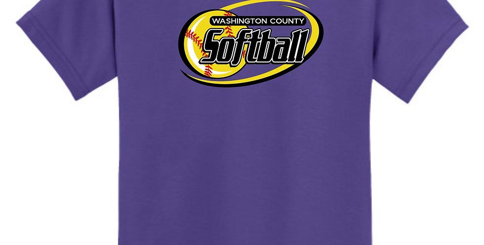 Softball-Youth Core Blend Tee Short Sleeve