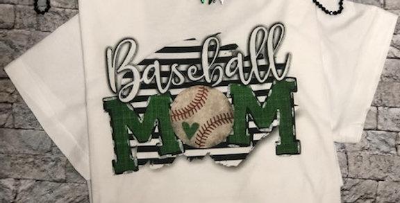 """Baseball MOM"" Performance Tee"