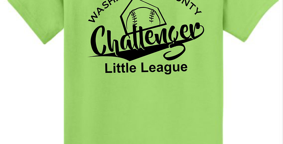 Challenger-Adult Core Blend Tee Short Sleeve