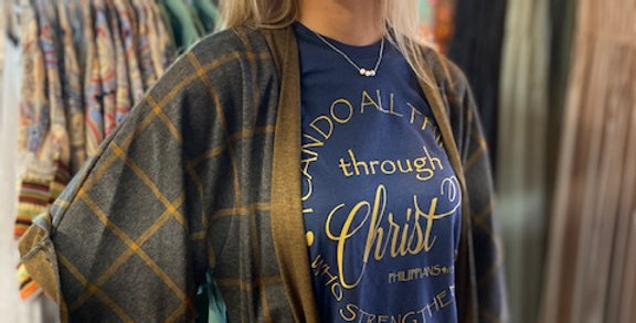 """""""I can do all things through Christ"""" Tee"""