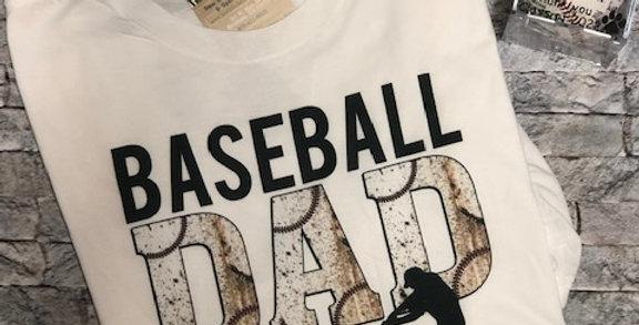 """Baseball DAD"" SS Performance Blend Tee"