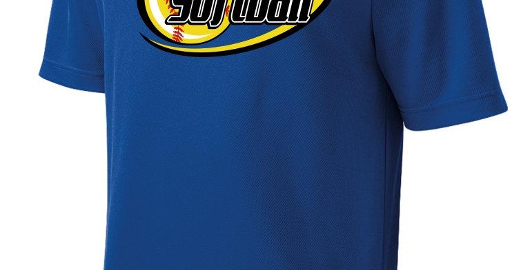 Softball-Adult RacerMesh® Tee Short Sleeve